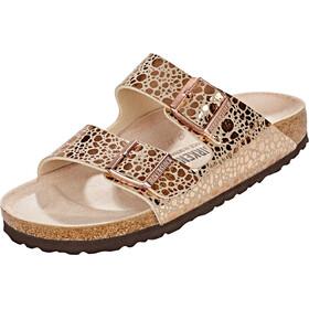 Birkenstock Arizona Sandals Birko-Floor, metallic stones copper